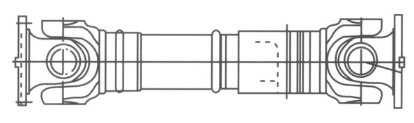 BH型十字轴式万向系列
